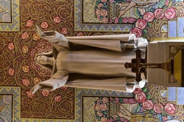 Ste Thérèse nous accueille ..........