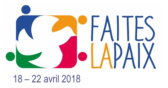 Logo Faites la paix avril 2018