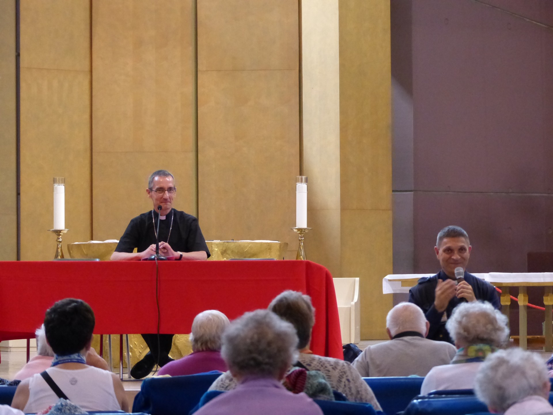 Lourdes2018-photos conference Mgr Dollmann (2)