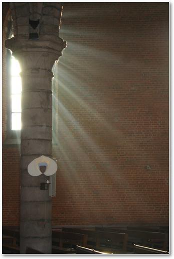 Lumière divine...