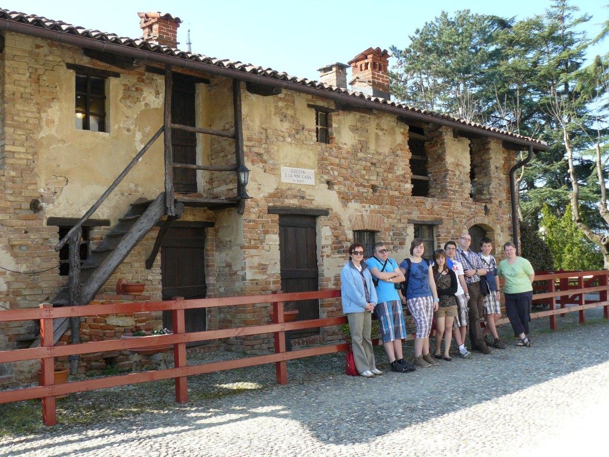 Maison paternelle de DB au Becchi