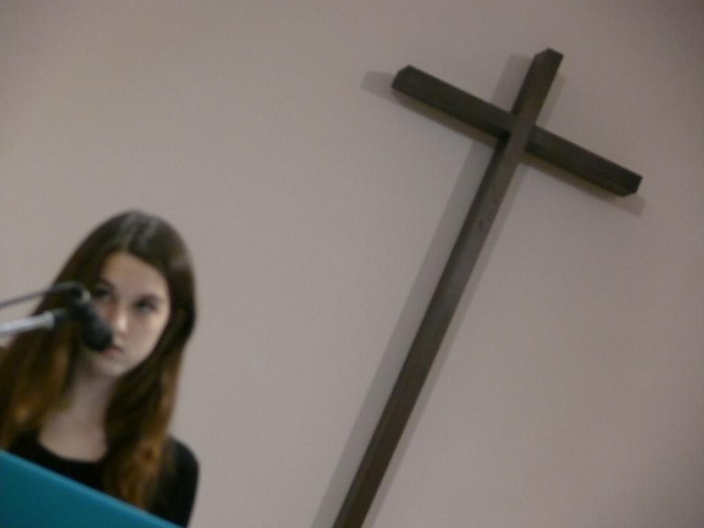 Manon lit le psaume
