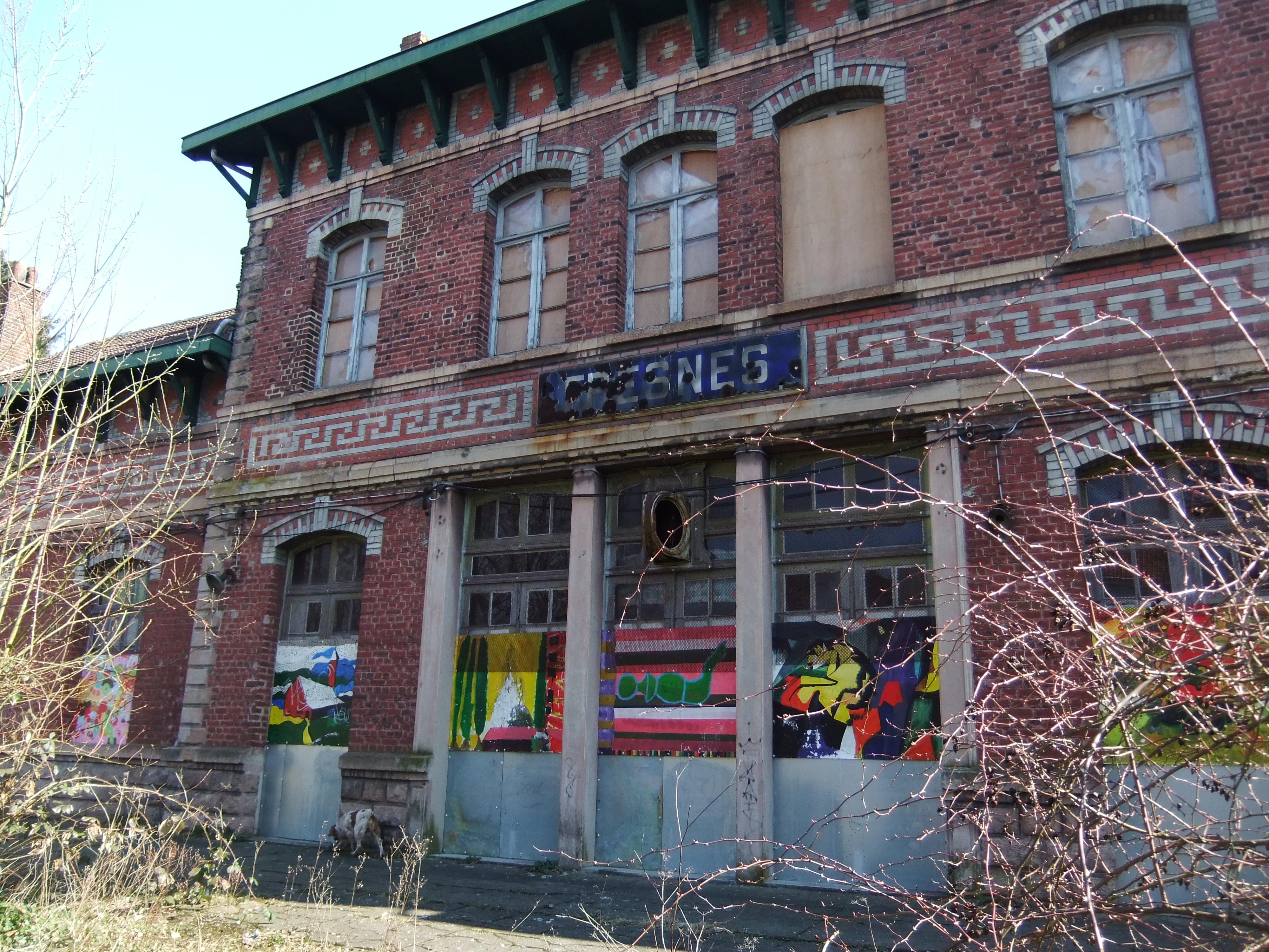 L'ancienne gare de Fresnes