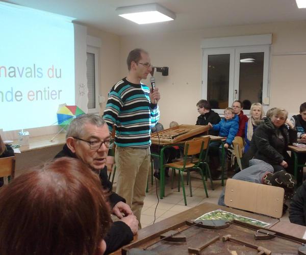 Jean-Paul, au nom des catéchistes, nous a présenté le projet de la retraite de profession de foi