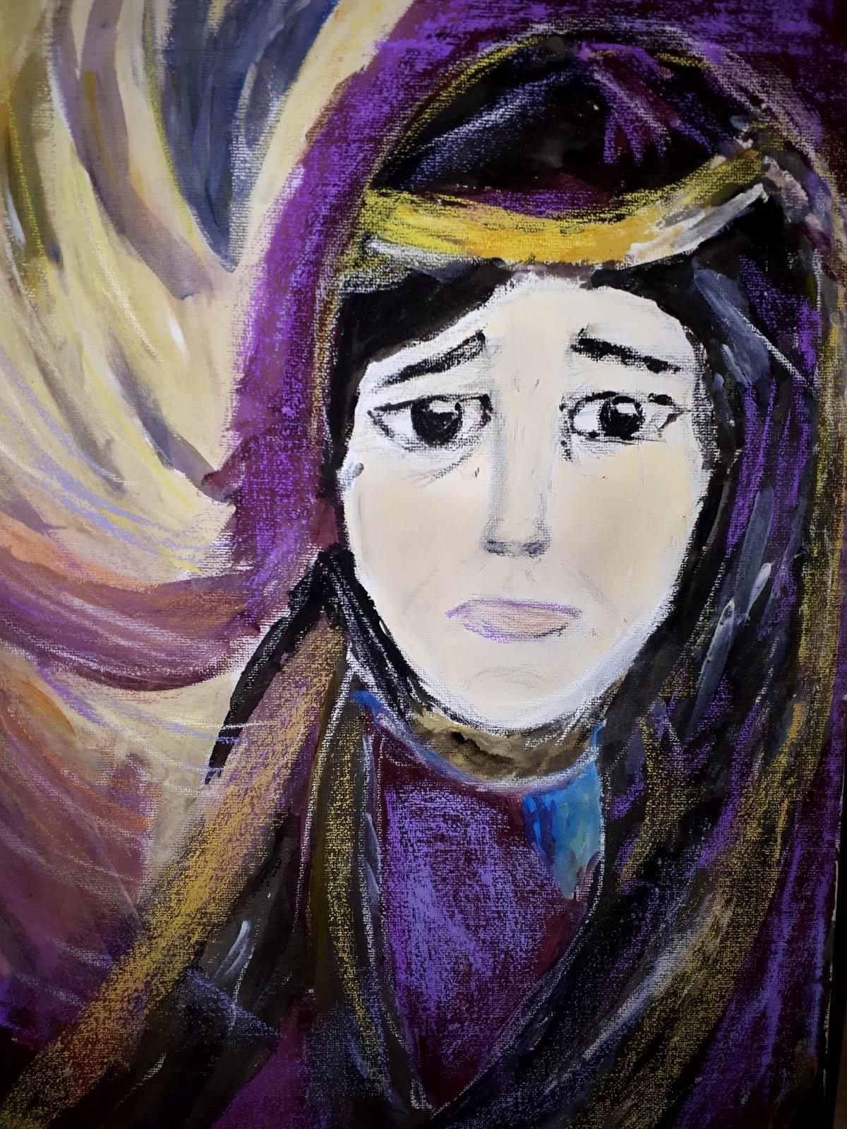 Marie peinture Veronique