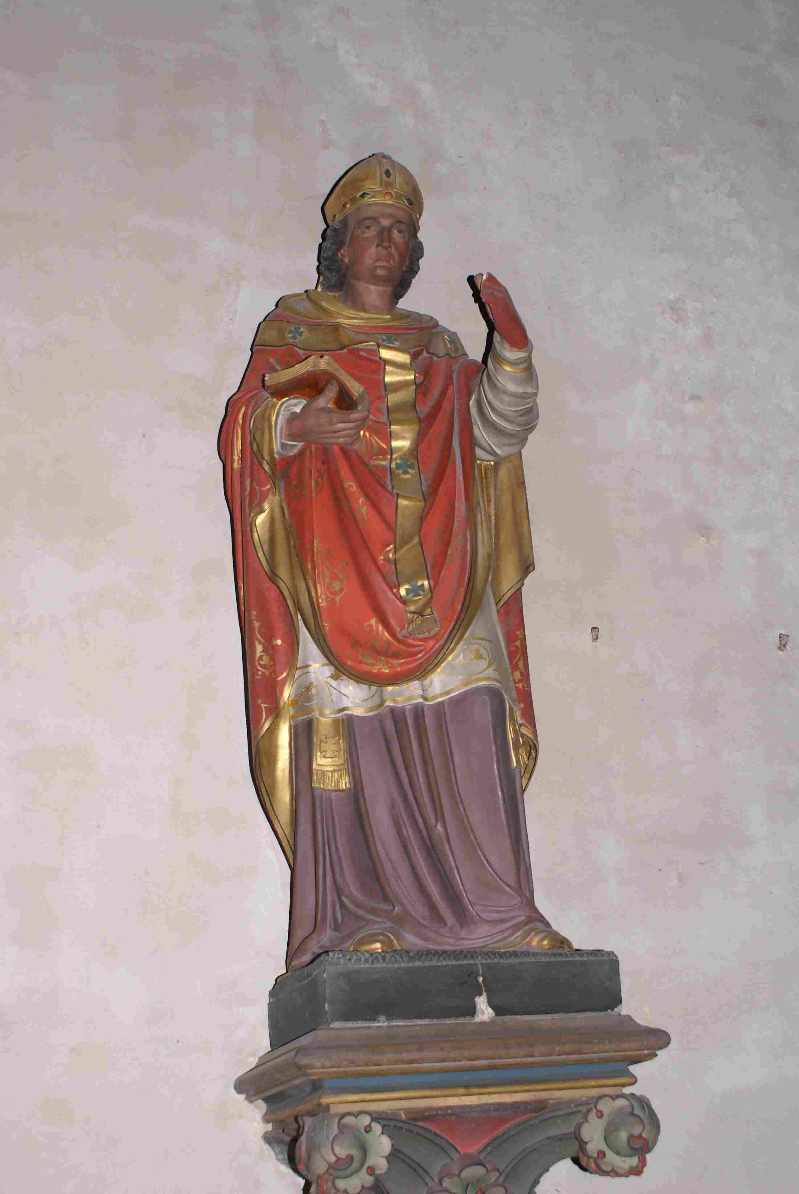L'un des 3 St Patron de cette église