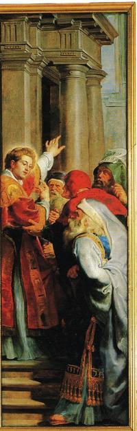 Martyr de Saint Etienne Rubens