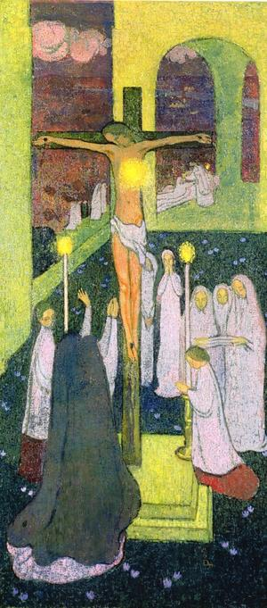Maurice Denis Sacre Coeur crucifie 1894  001