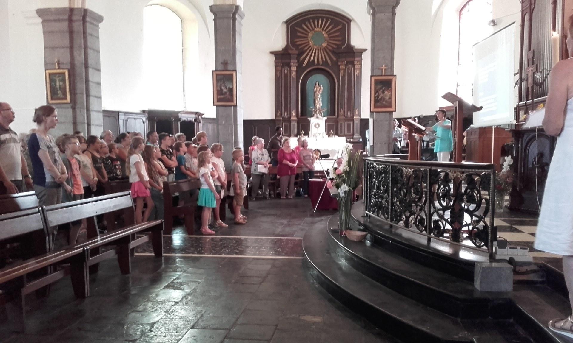 Messe des familles 17 juin 2017