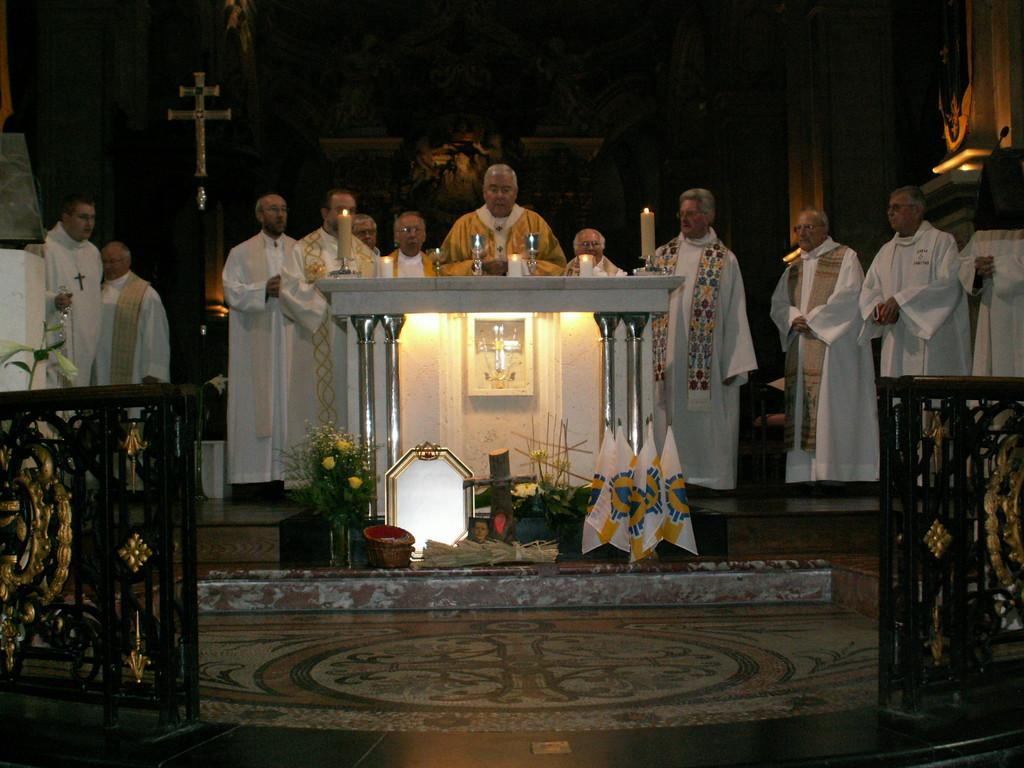 Messe presidee par Mgr Garnier