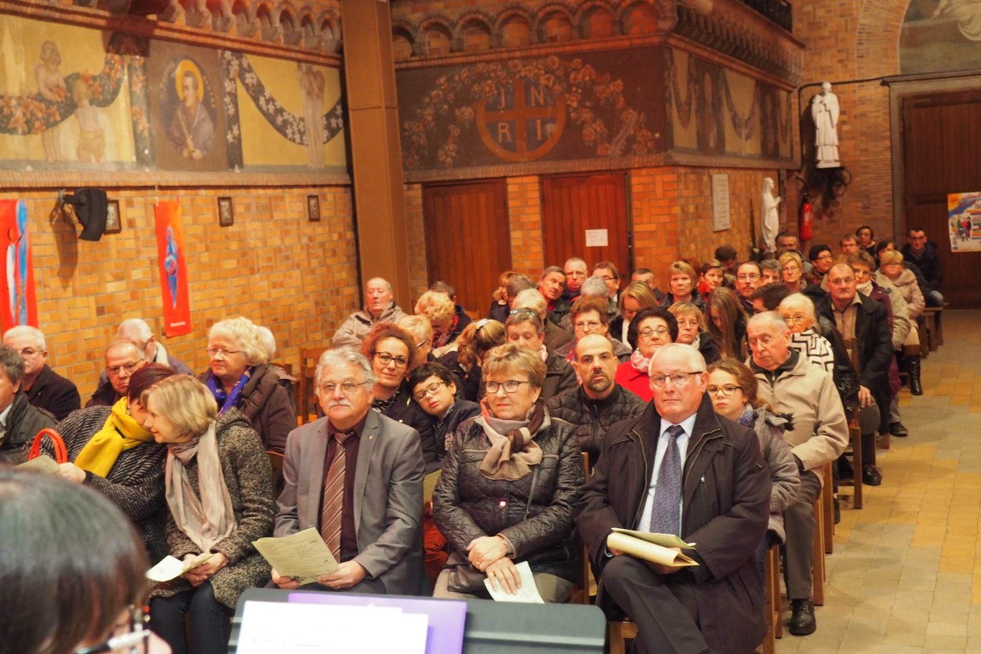 Messe Ste Cécile Courchelettes 28