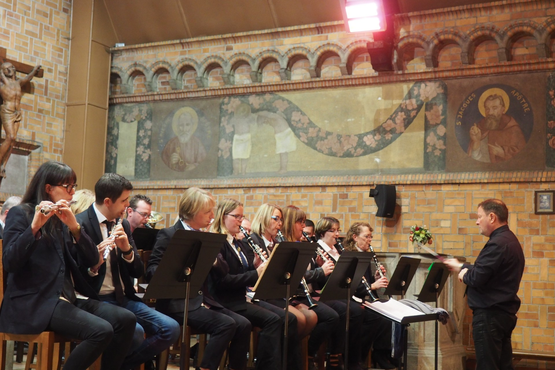 Messe Ste Cécile Courchelettes 35