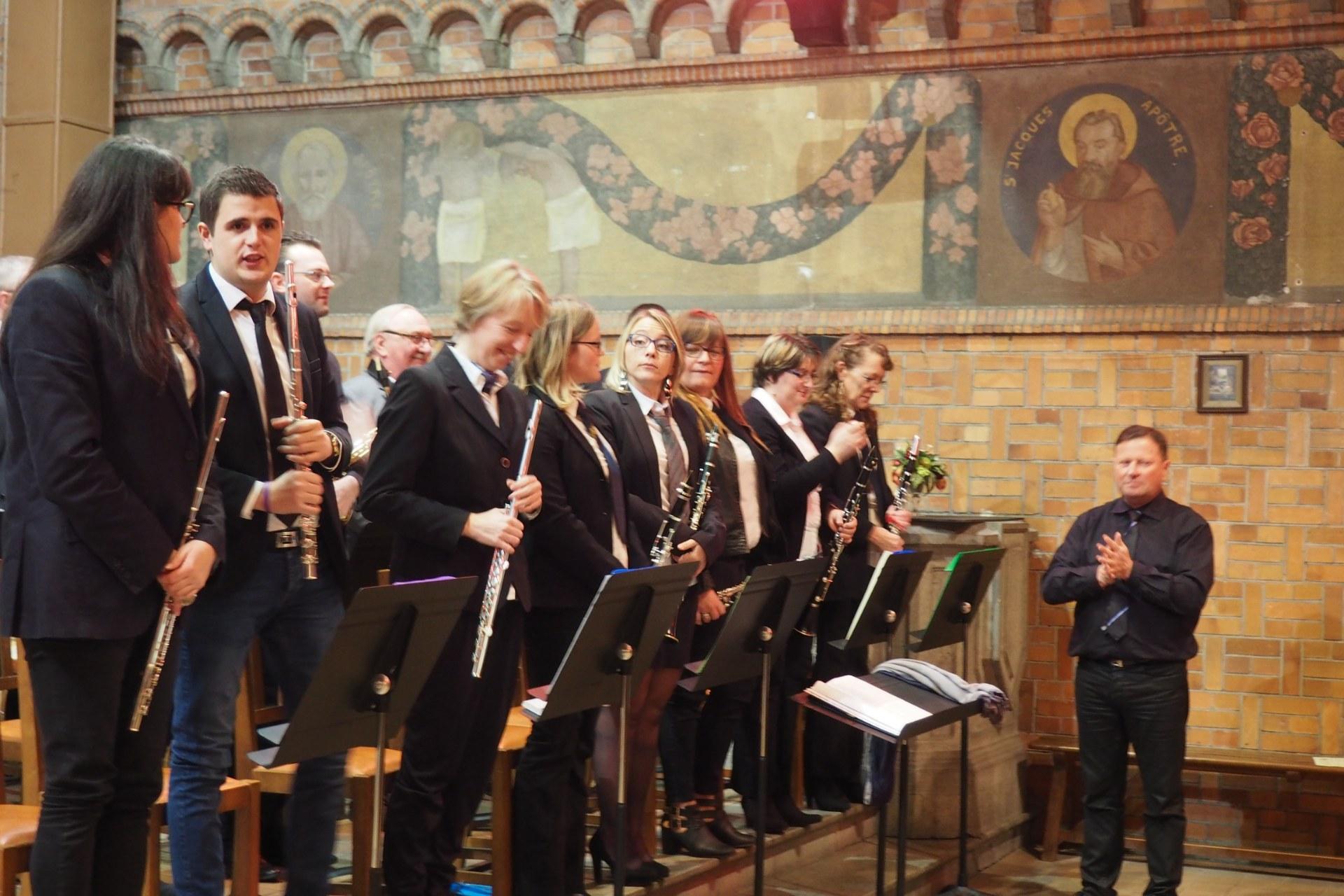 Messe Ste Cécile Courchelettes 36