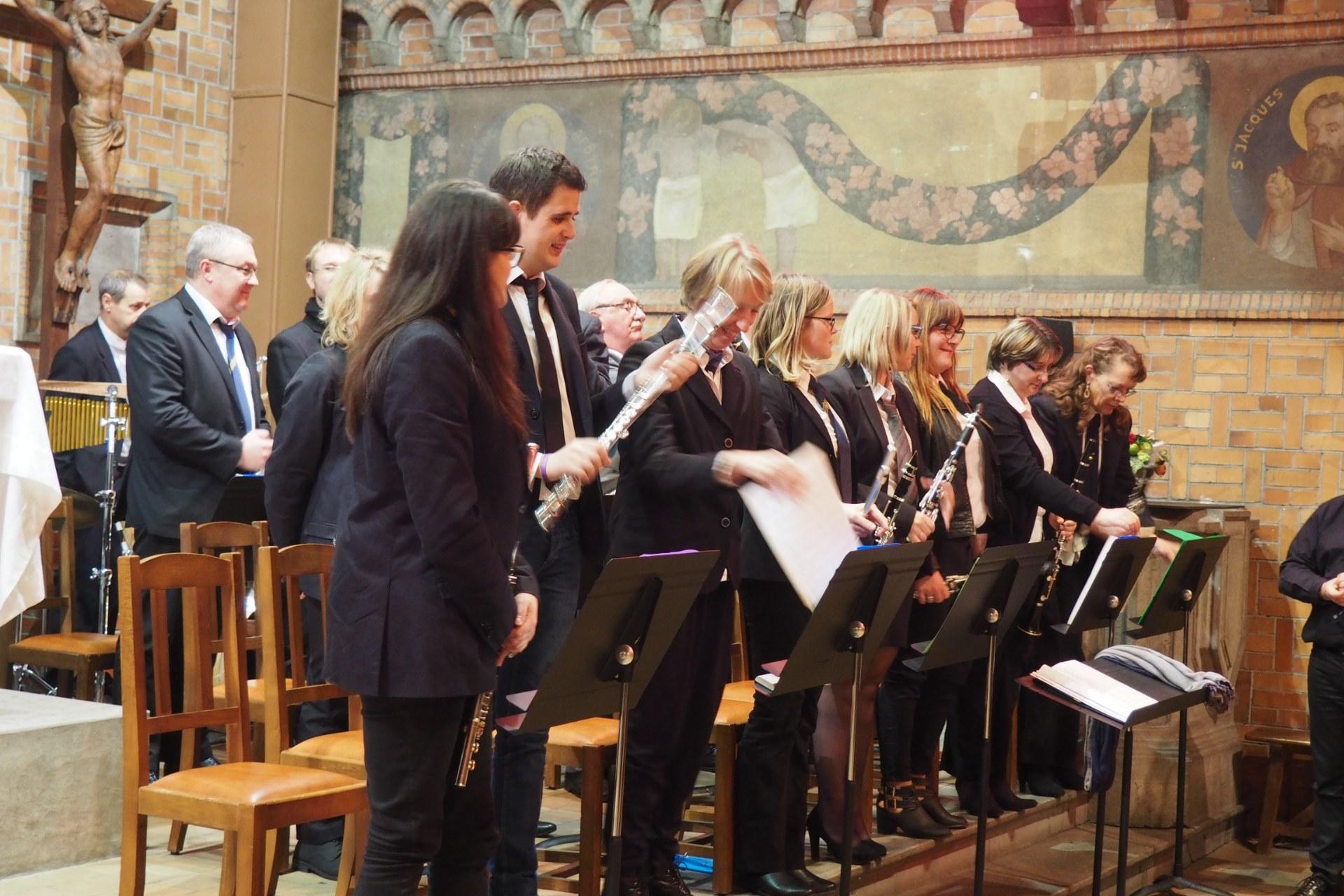 Messe Ste Cécile Courchelettes 37
