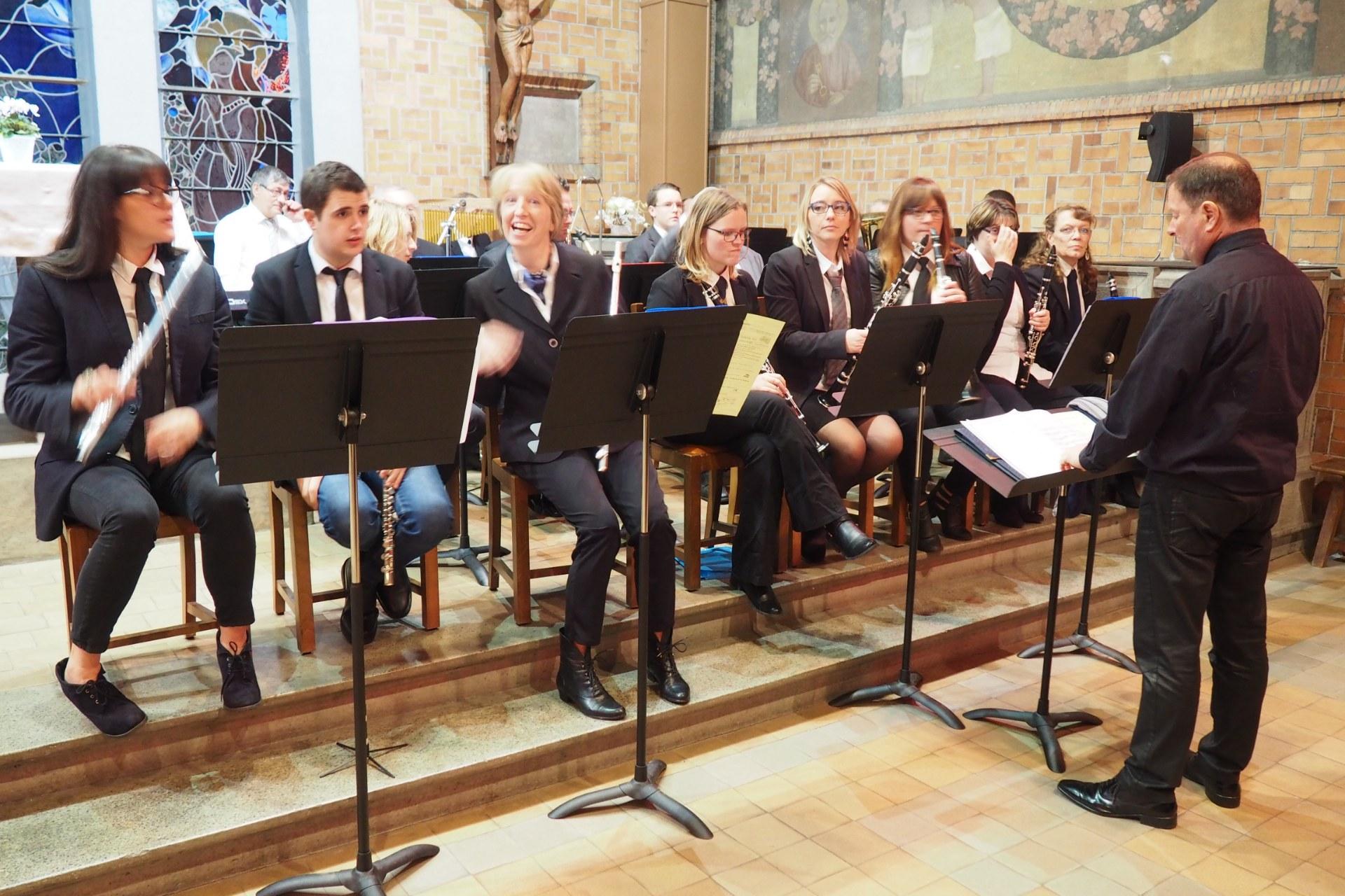Messe Ste Cécile Courchelettes 2