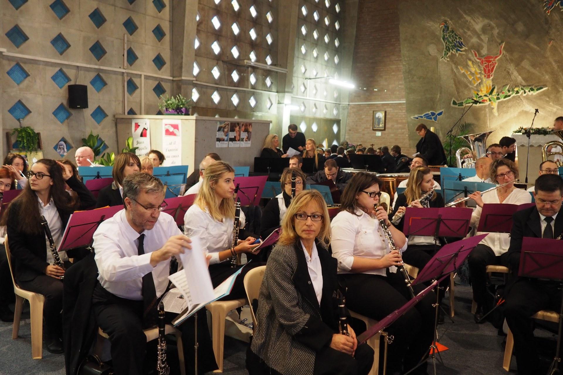 Messe Ste Cécile Lambres 18