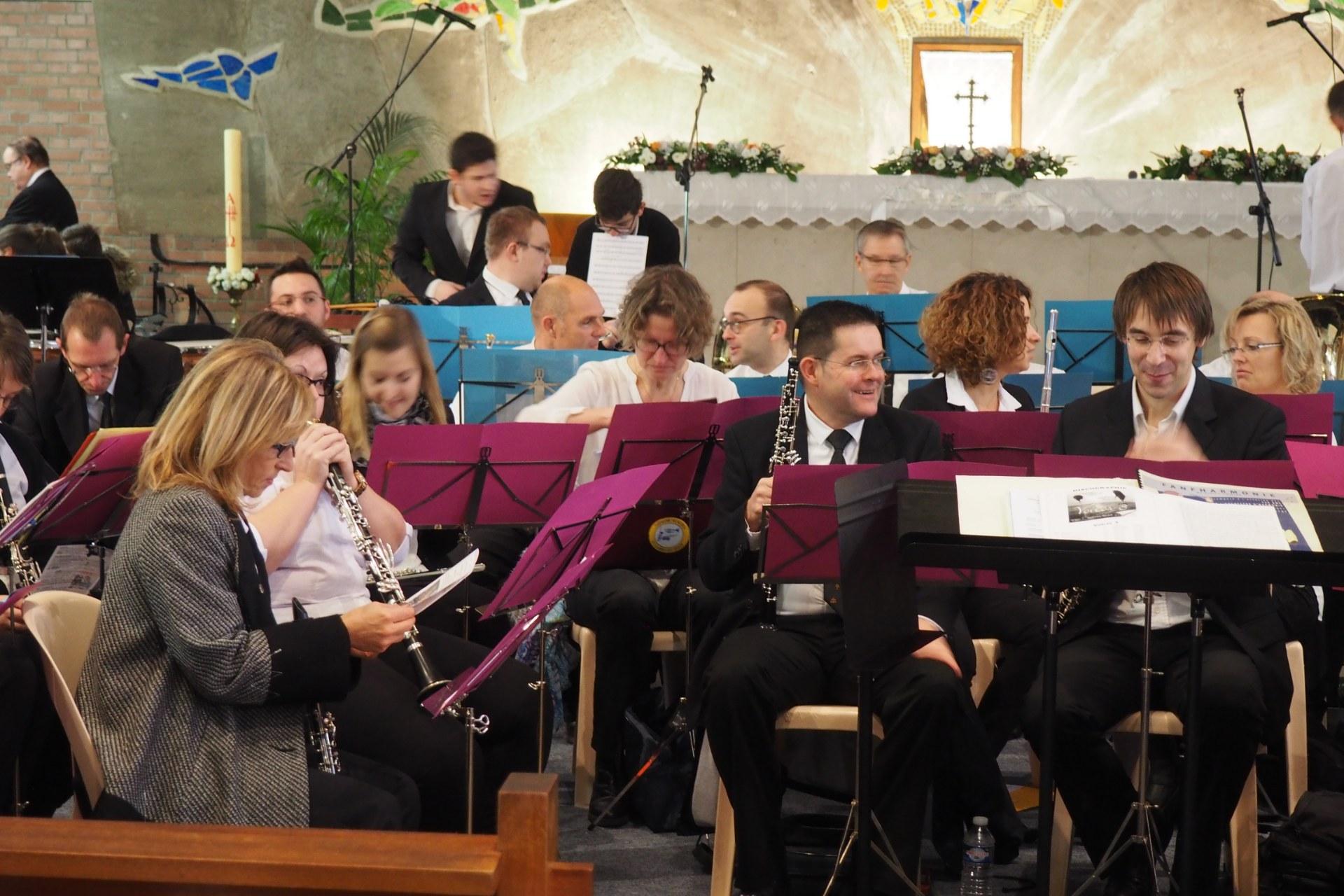 Messe Ste Cécile Lambres 19
