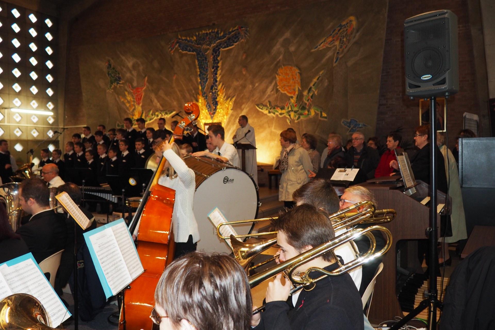 Messe Ste Cécile Lambres 25