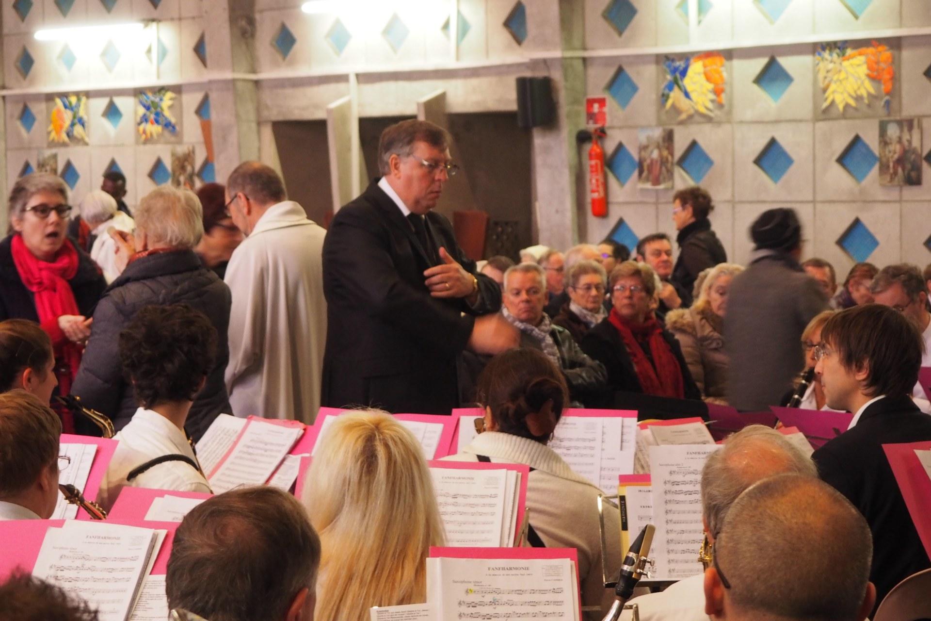Messe Ste Cécile Lambres 69