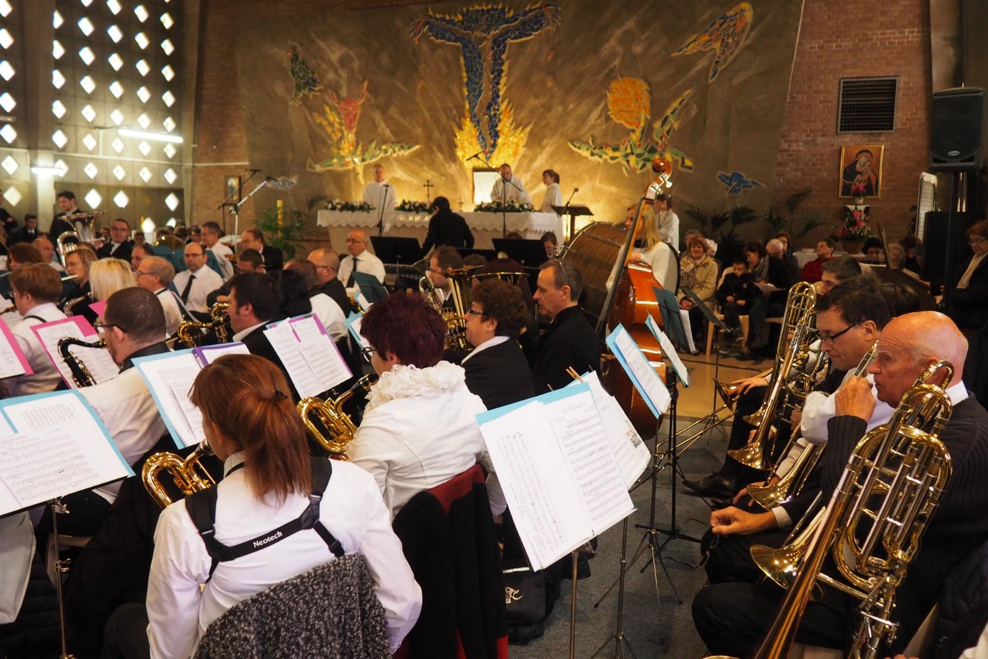 Messe Ste Cécile Lambres 74