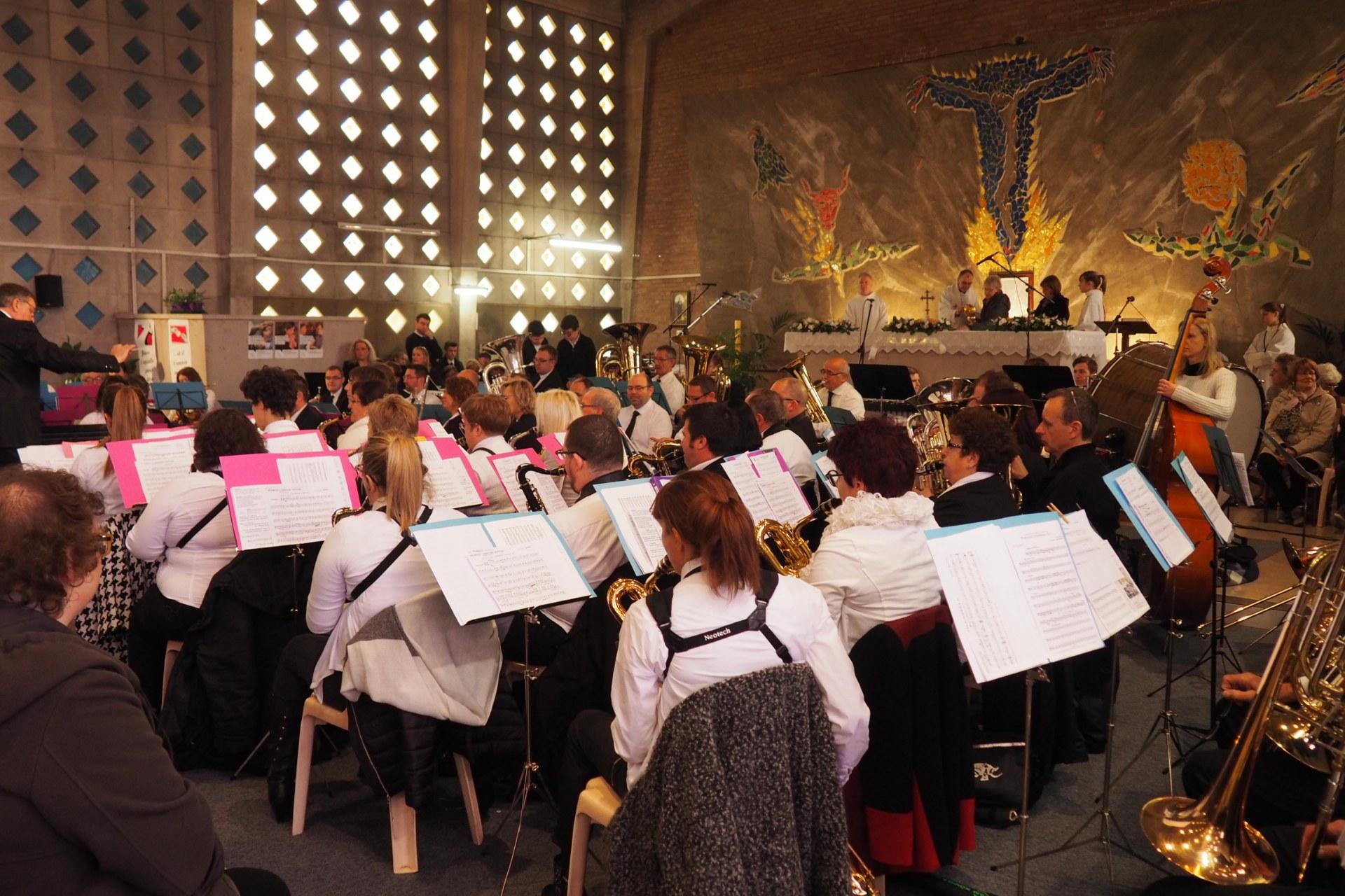 Messe Ste Cécile Lambres 75