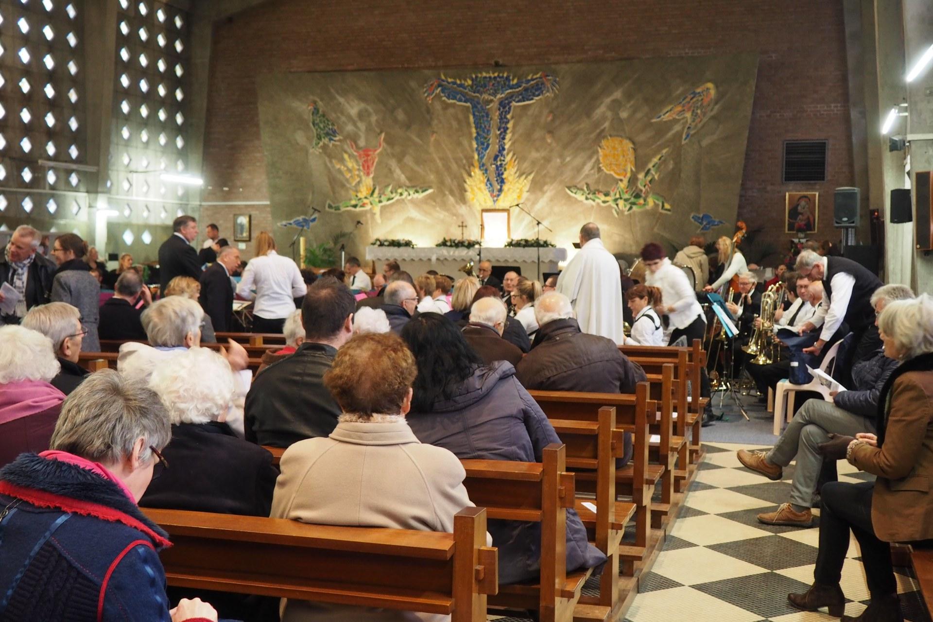 Messe Ste Cécile Lambres 9