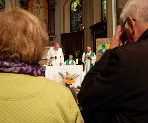 Messe à Vieux-Condé