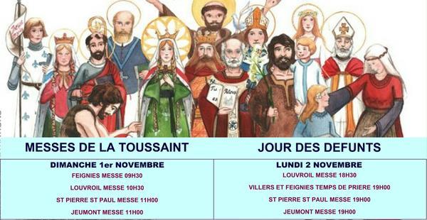 MESSES DE LA TOUSSAINT
