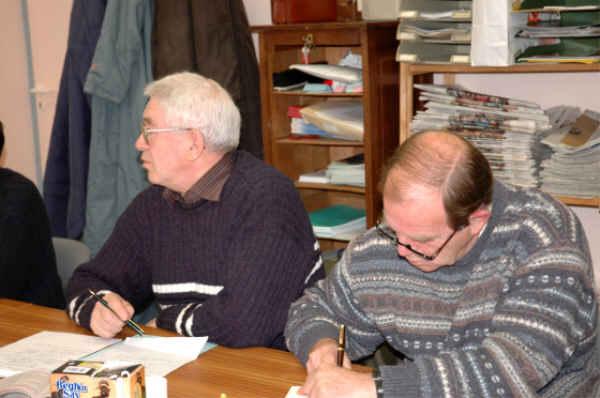 Michel Corduant et Xavier Bris