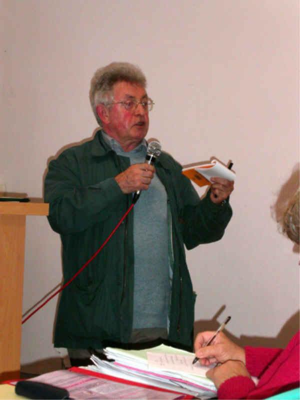 Michel Darcel présente les deux jours de visite