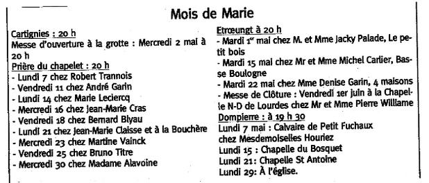 MOIS DE MARIa#n