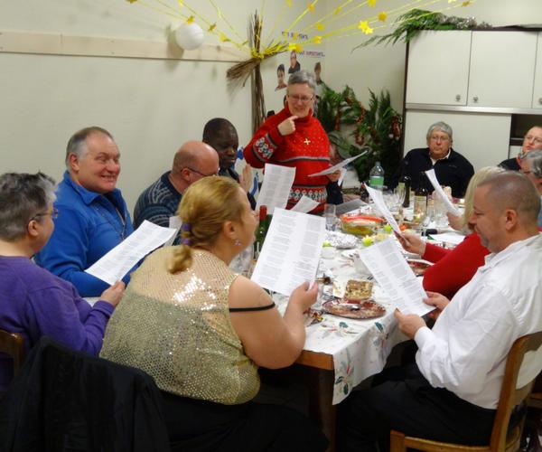 Noël 2013 : table ouverte au presbytère de Condé