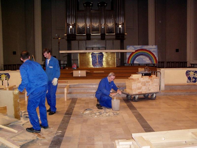 nouveau podium de st pierre st paul toussaint 2006