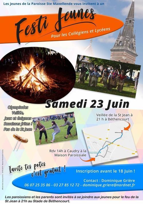 Aff Festi Jeunes Caudry