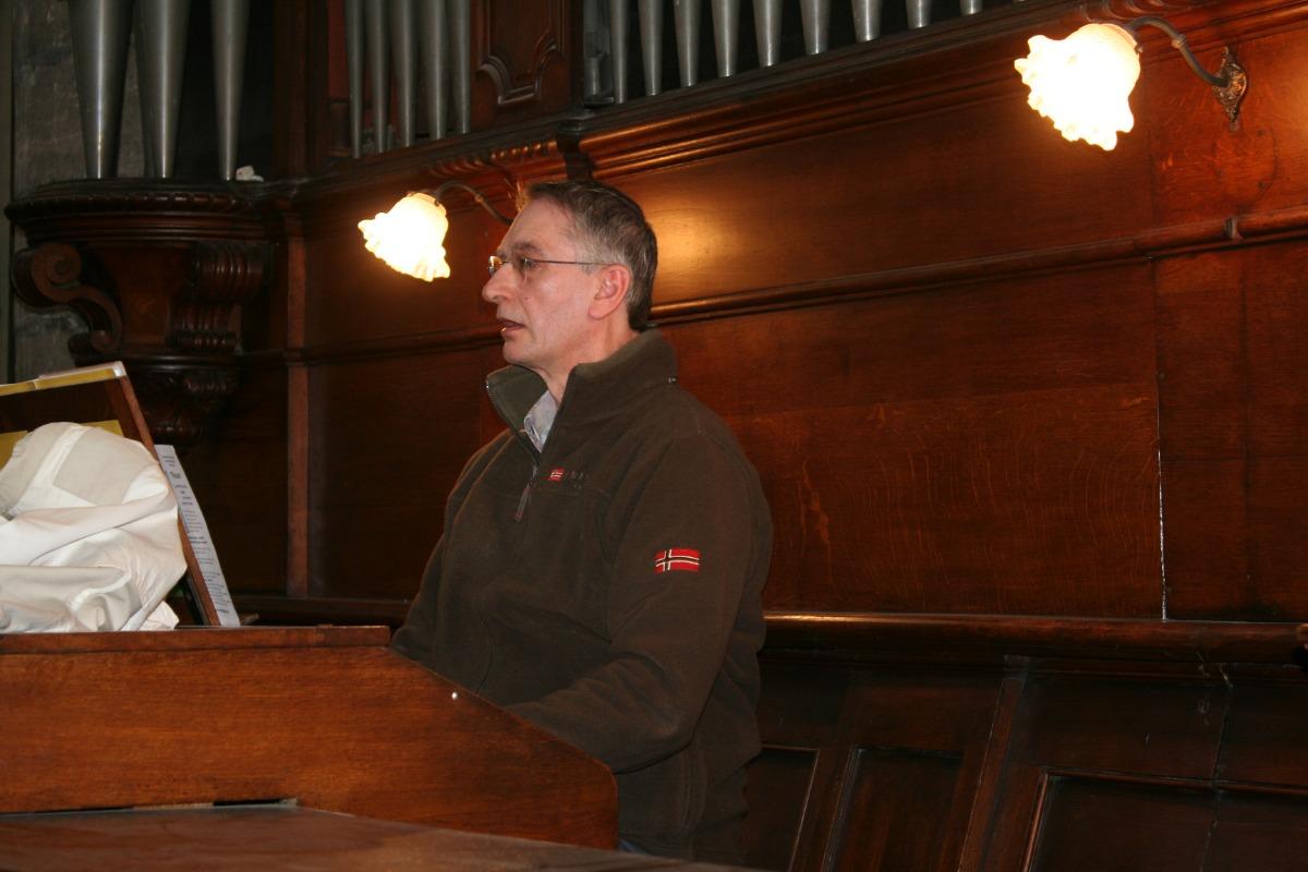 L'organiste de chœur