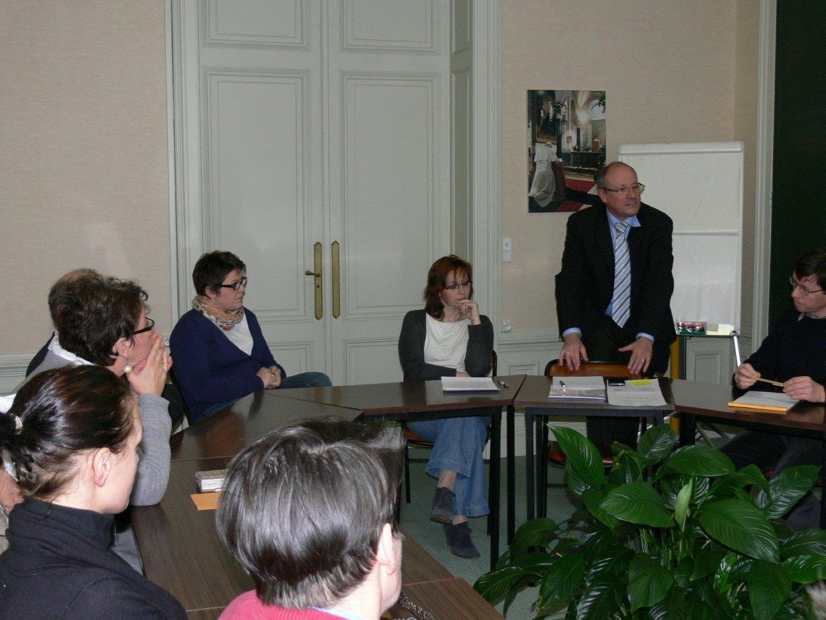avec Jean, Michel et Caroline