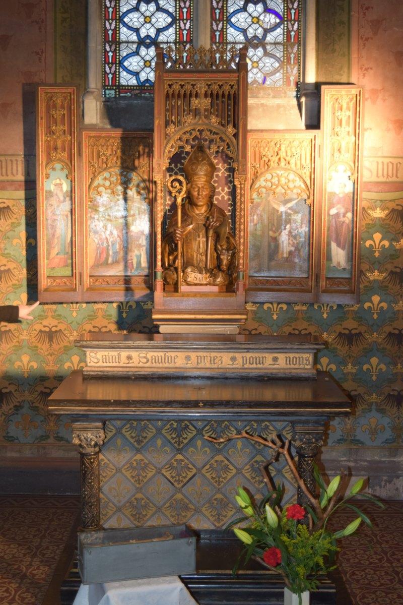 pèlerinage autour de Saint Saulve 4