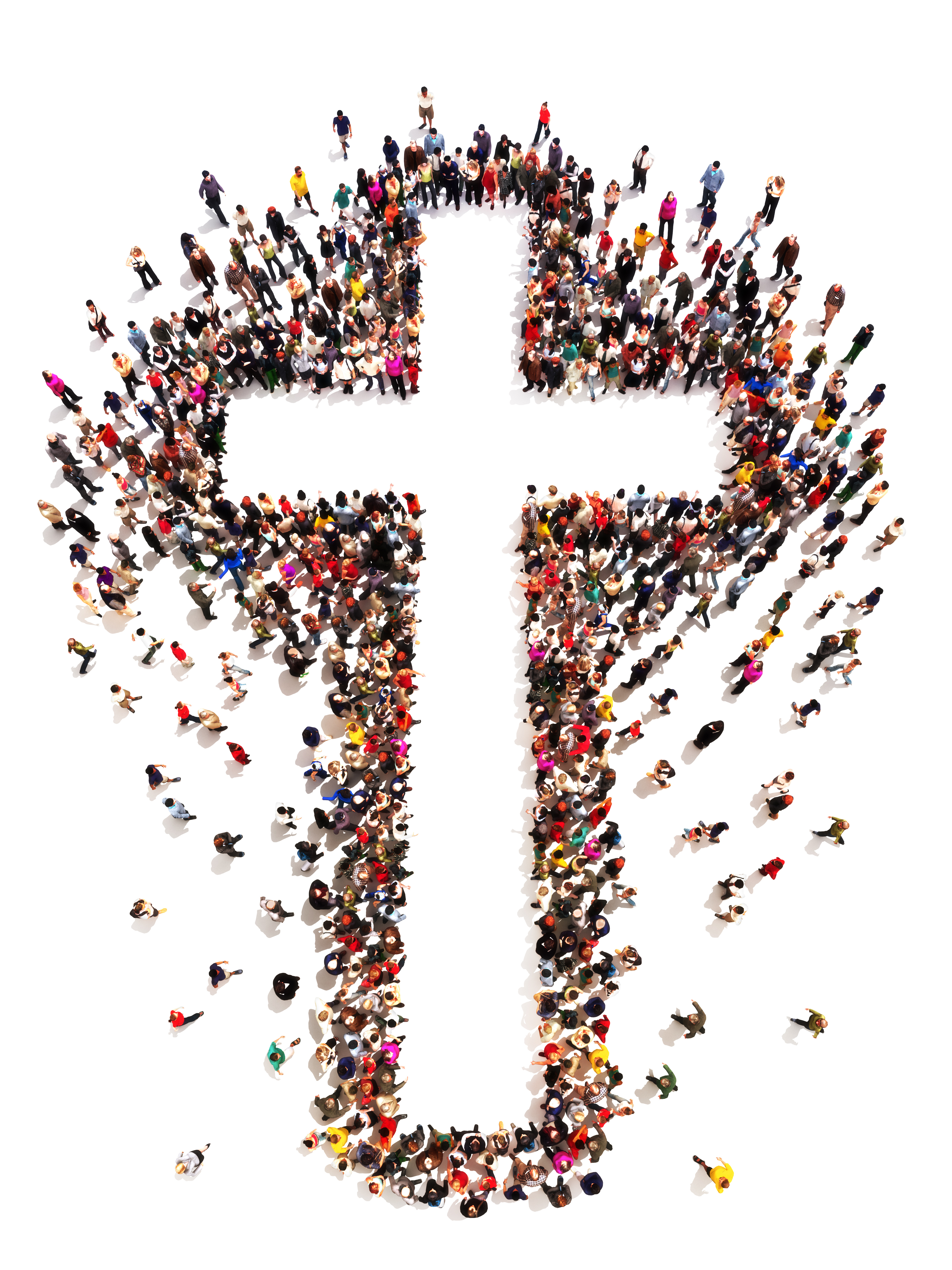 People finding Christianity, religion and faith