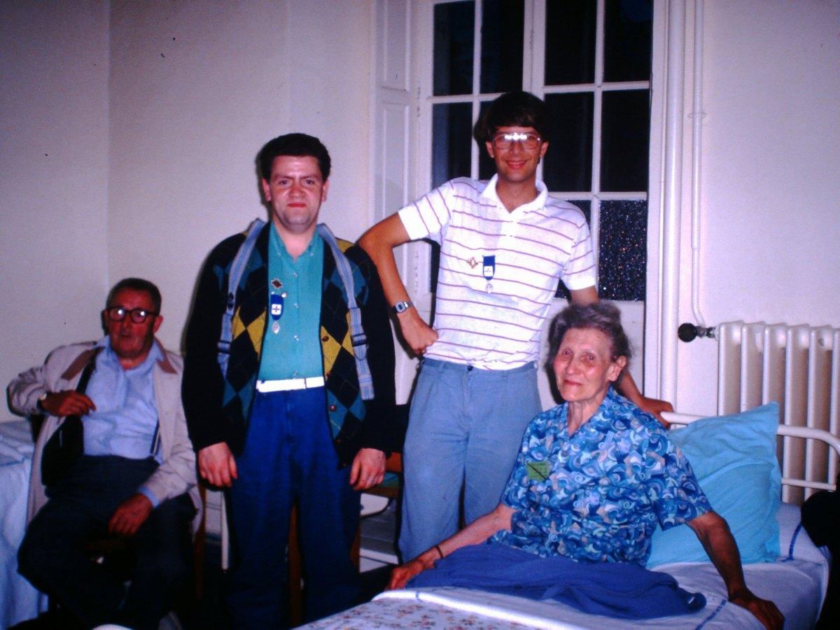 Pélé Août 1987