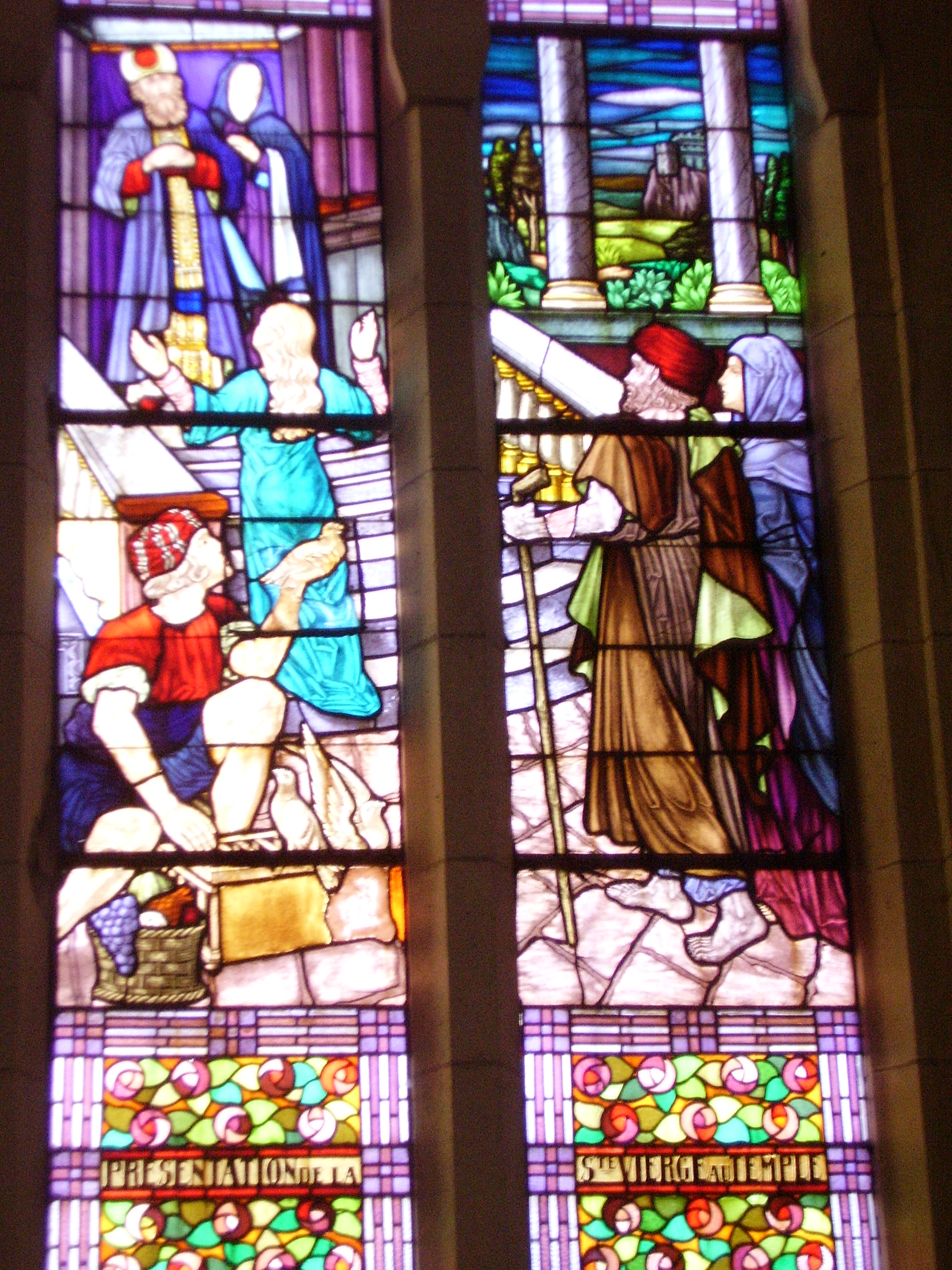 présentation de Marie au temple