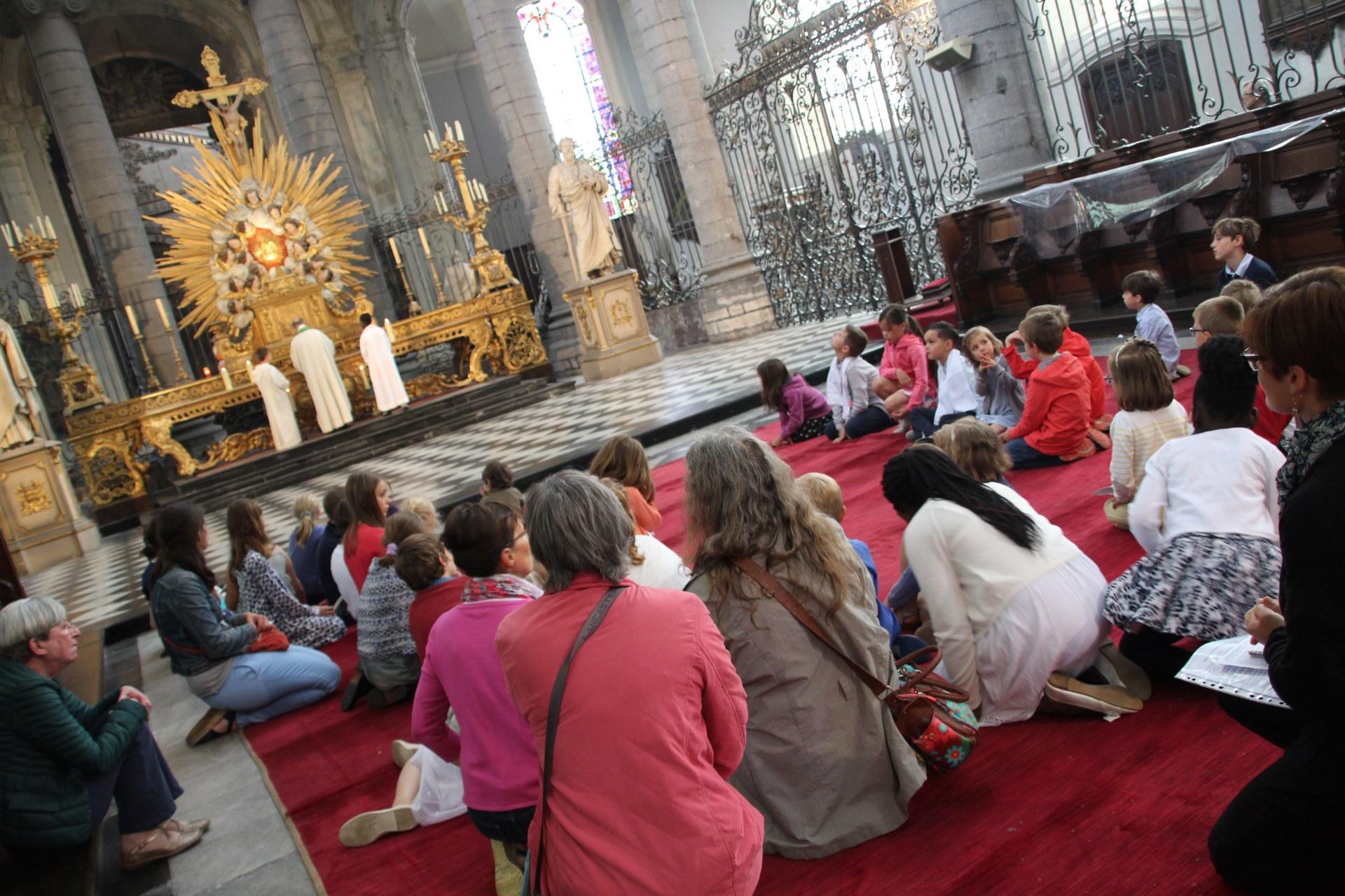 Prière d'après la communion.