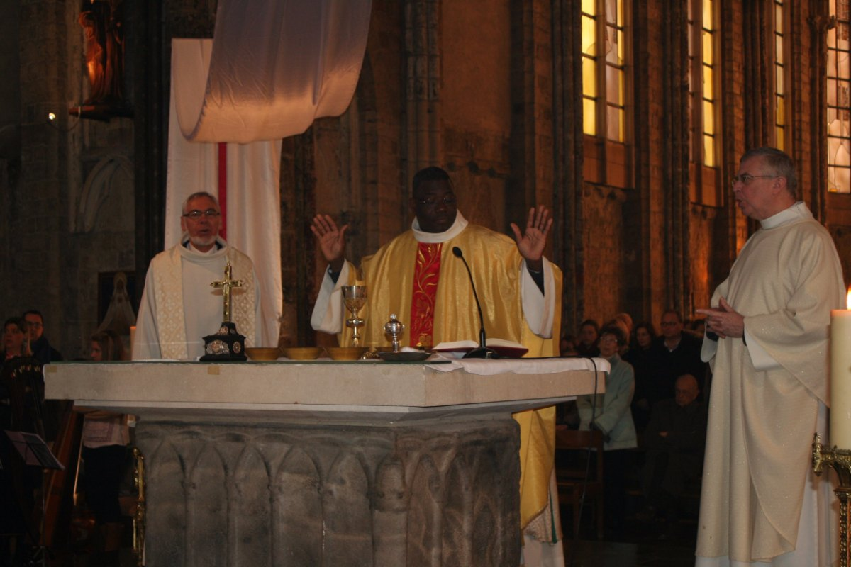Prière eucharistique.