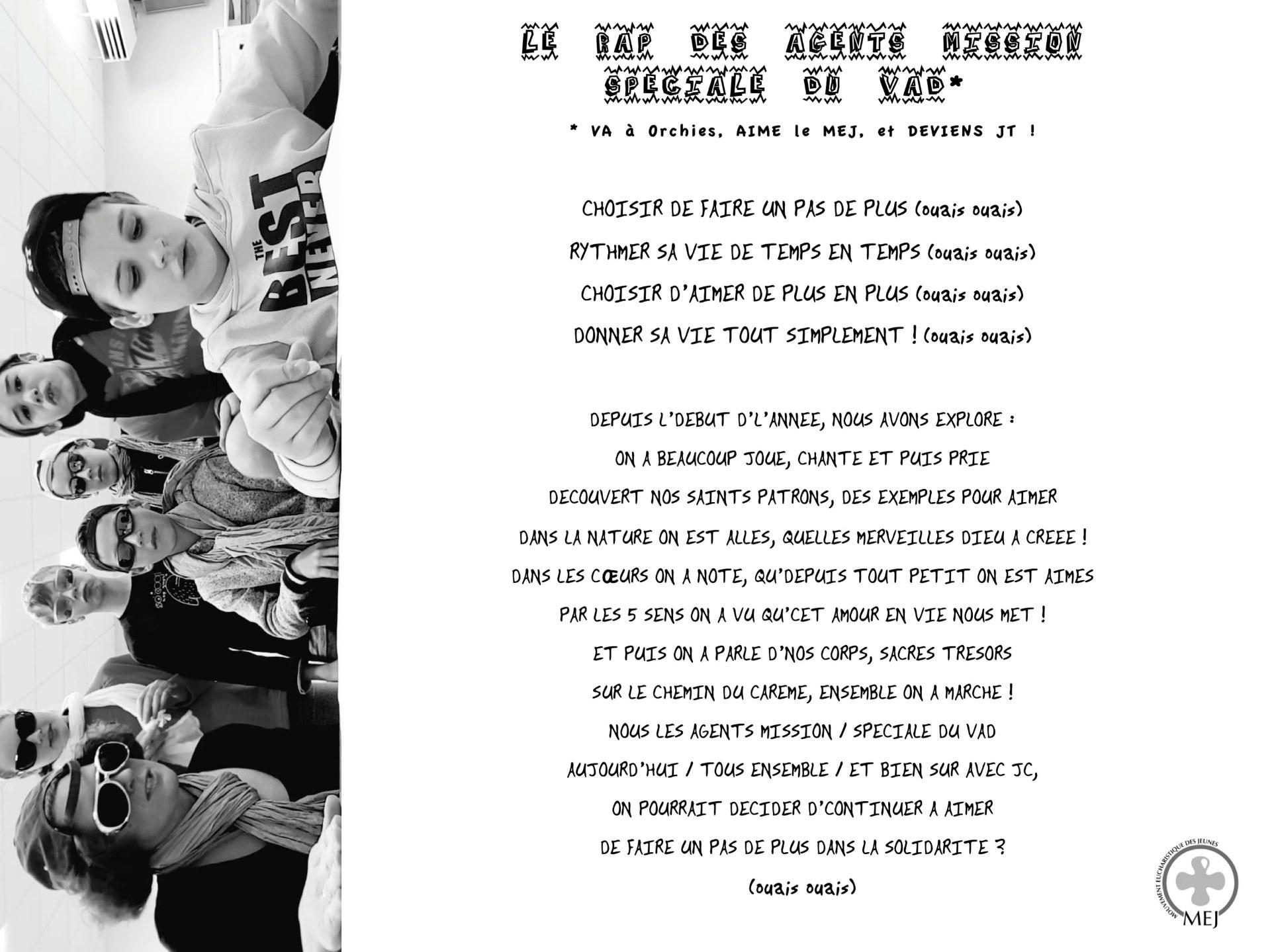 rap des JT d'ORCHIES