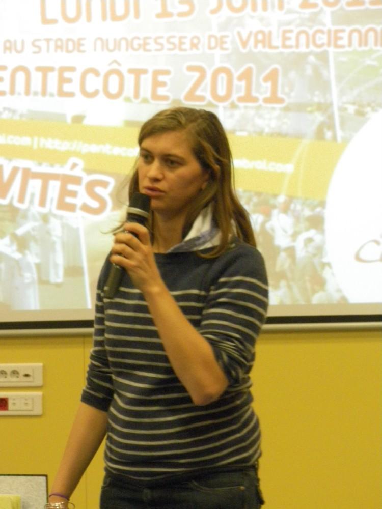 Marie Payen - équipe de pilotage Pentecôte 2011