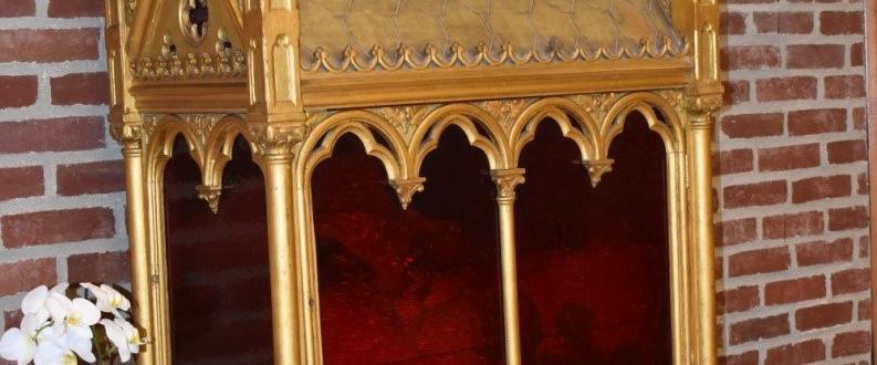 Reliquaire Ursulines martyres Valenciennes