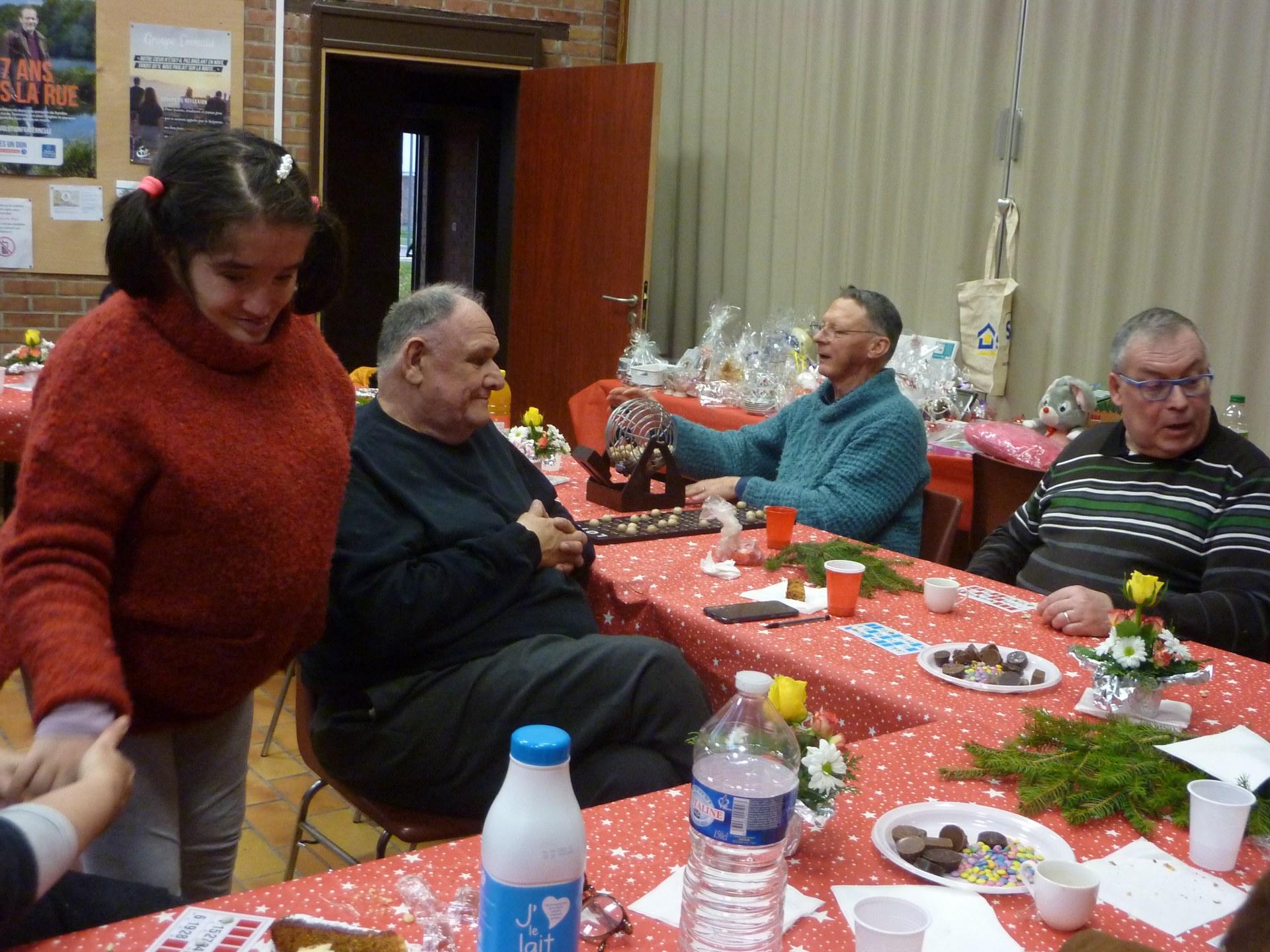 Rencontre malades Noël Epis 56
