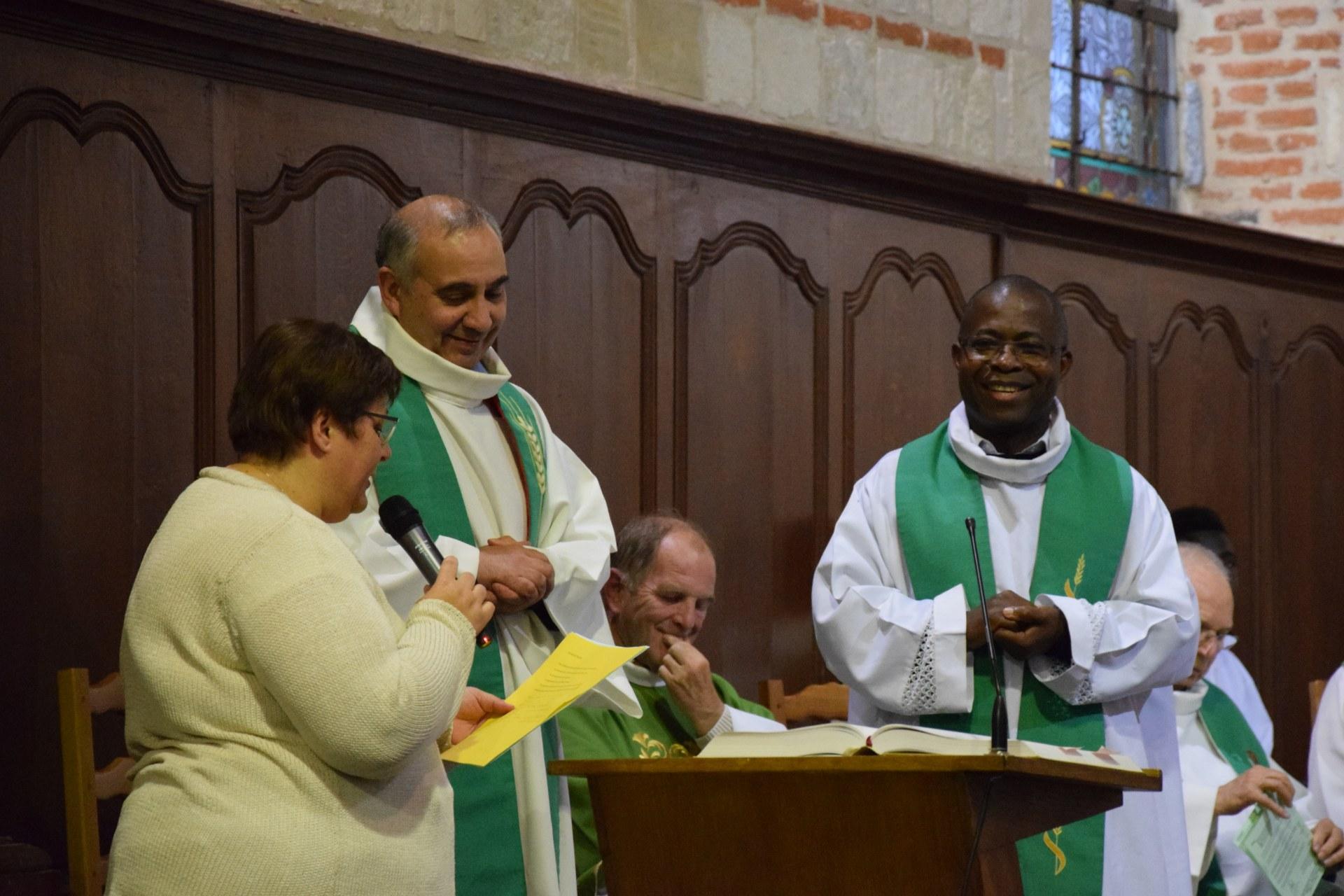 Nous accueillons l'abbé Armand-Flavien dans sa nouvelle mission de curé