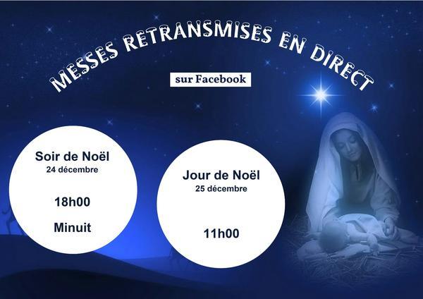 RETRANSMISSION MESSES DE NOEL