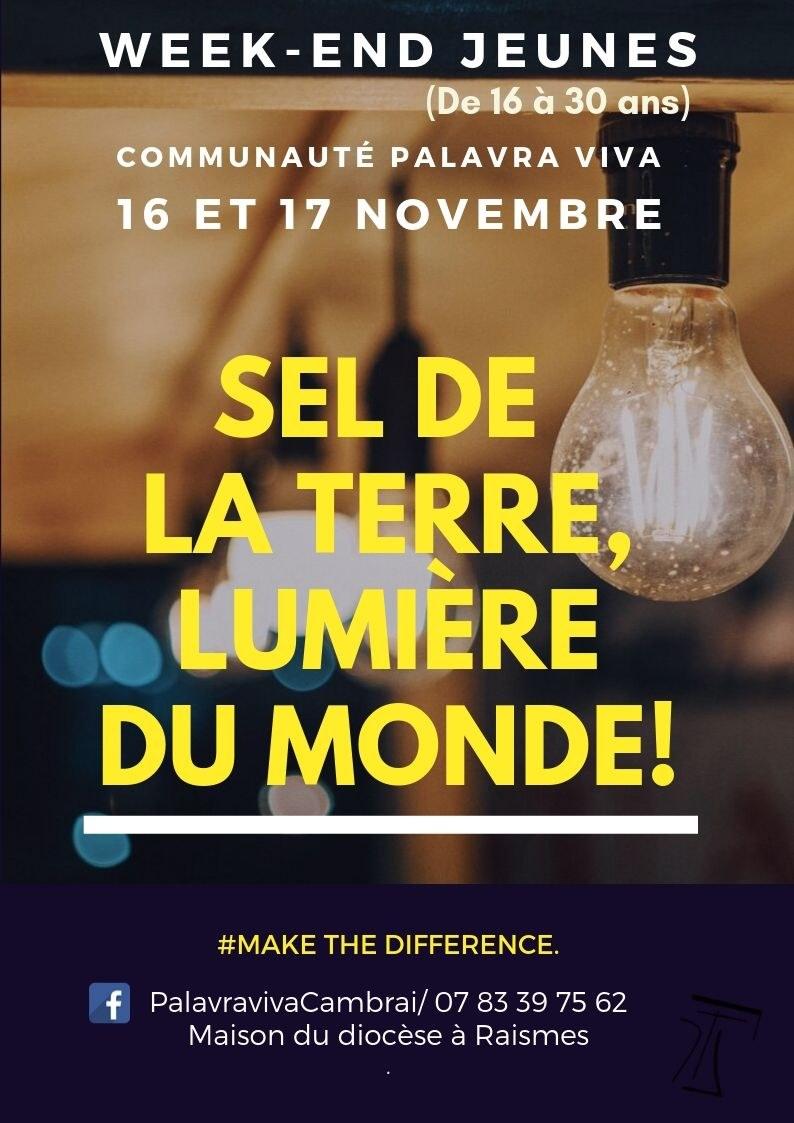 Sel de la terre lumière du monde palavra viva 2019