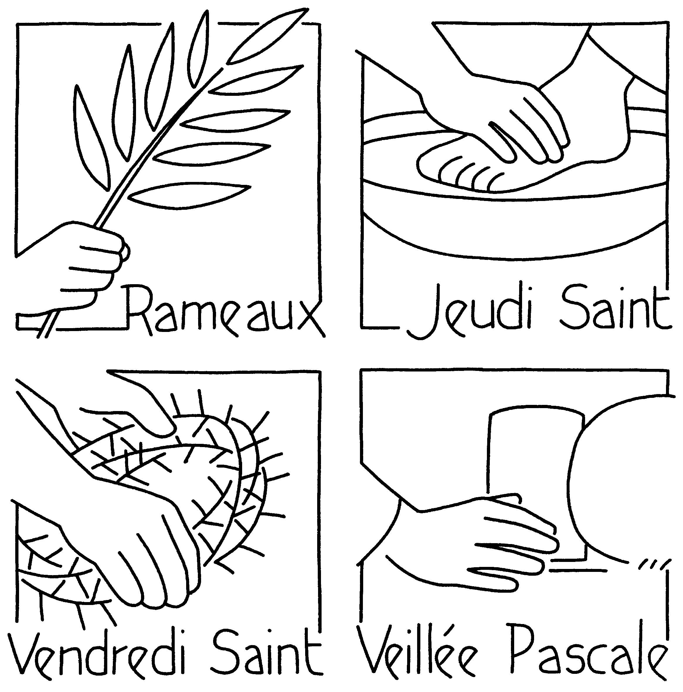 Préparation de la Semaine Sainte